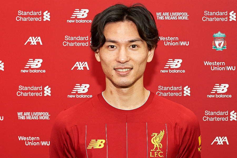 リバプール移籍が決定した日本代表MF南野【写真:Getty Images】