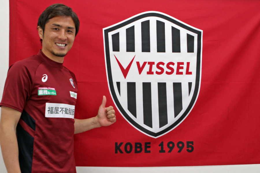 自身のインスタグラムを更新したヴィッセル神戸のDF那須大亮【写真:Football ZONE web】