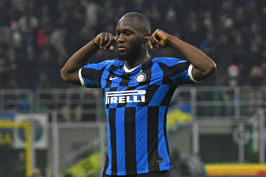 イタリアサッカー界における人種差別問題浄化を強く訴えたFWロメル・ルカク【写真:Getty Images】