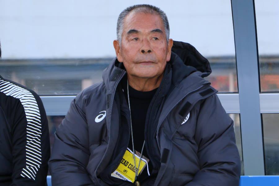 長崎総科大附の小嶺忠敏監督がコメント【写真:Football ZONE web】