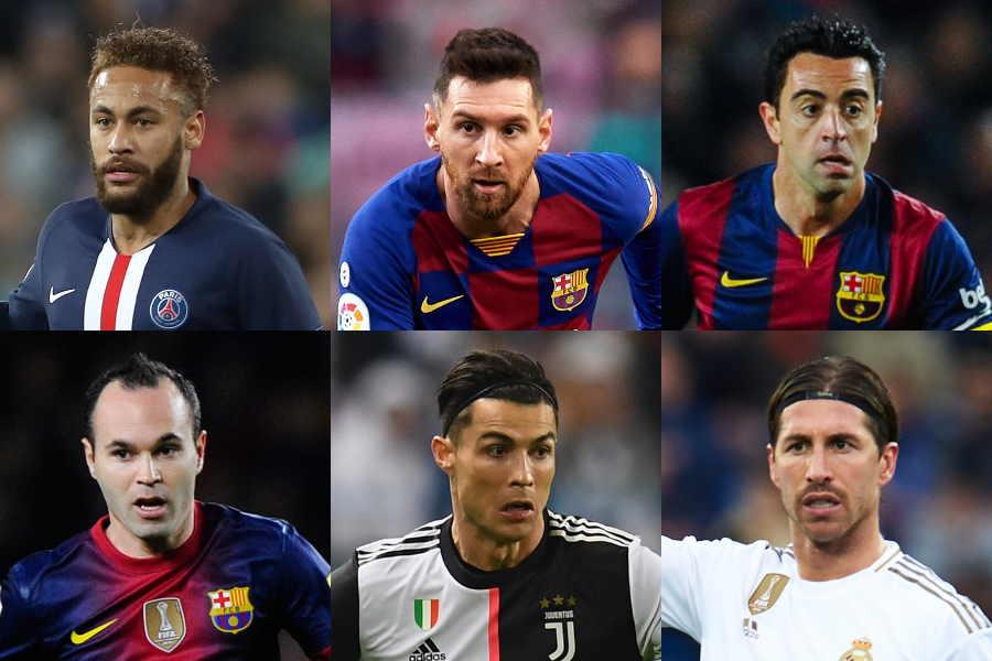 「フランス・フットボール」誌選出、2010年代ベストイレブンの顔ぶれは?【写真:Getty Images】