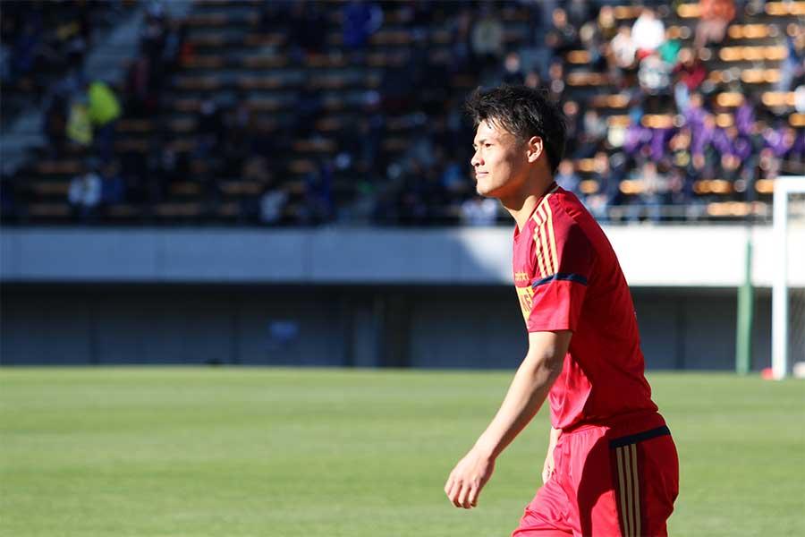 2019シーズンから鹿島への加入が内定している関川【写真:Football ZONE web】