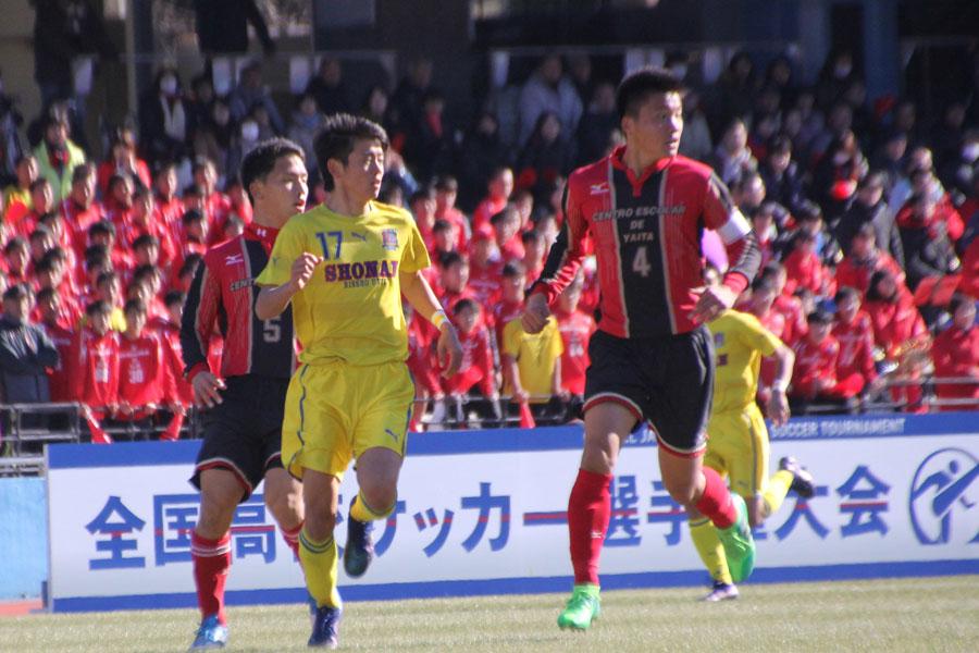 矢板中央が立正大淞南に1-0で勝利【写真:Football ZONE web】