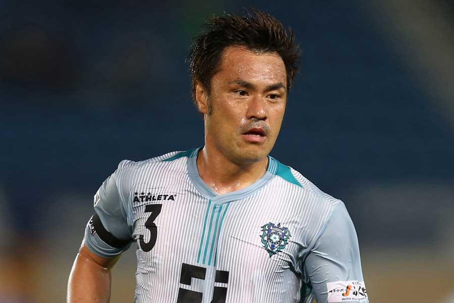 元日本代表DF駒野は、FC今治への移籍が決まった【写真:Getty Images】