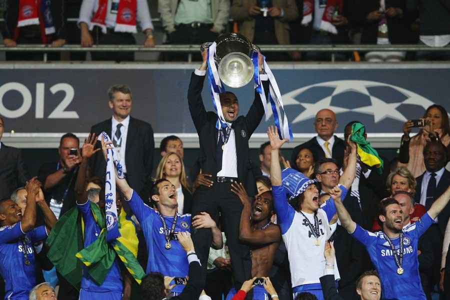 2011-12シーズンのチャンピオンズリーグを制したチェルシー【写真:Getty Images】
