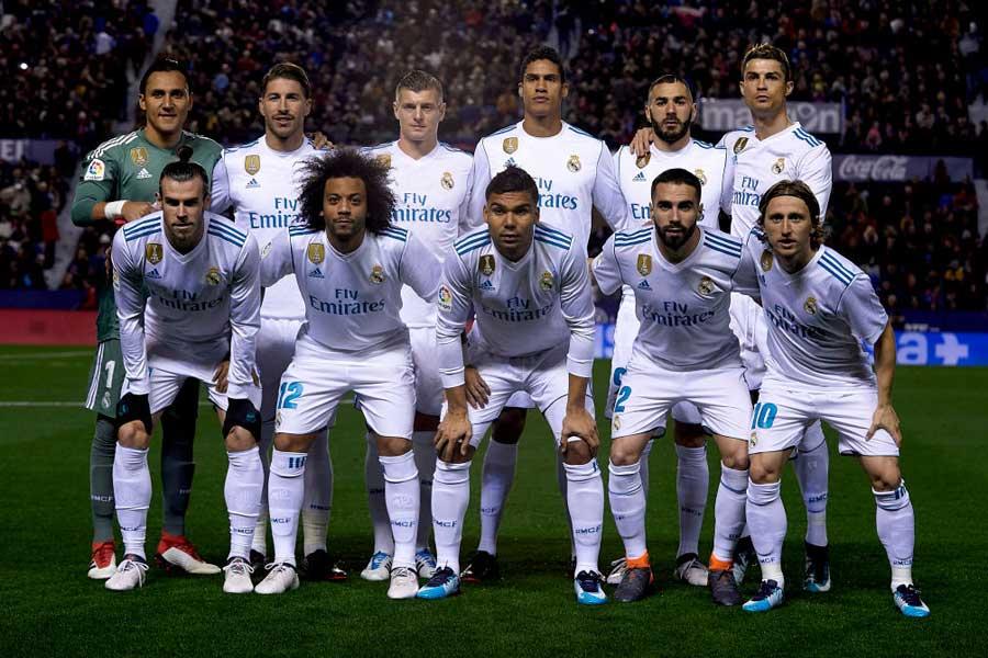 レアル・マドリードは、2017-18シーズンの収益ランキングで1位に輝いた【写真:Getty Images】
