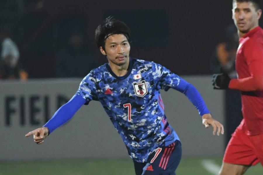 青森山田高校出身の日本代表MF柴崎岳(写真:AP)