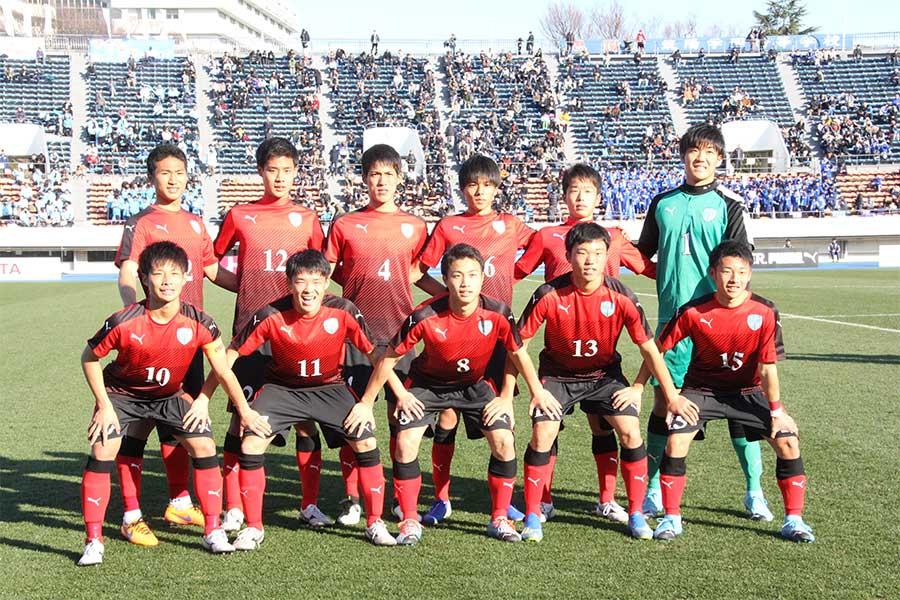 最高成績を更新した徳島市立高校の選手たち【写真:Football ZONE web】