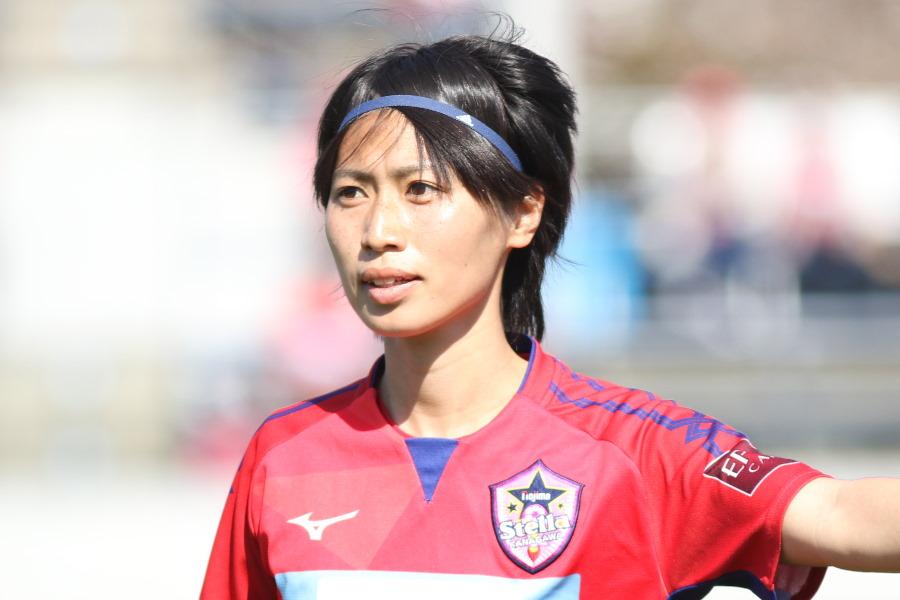 ウエルバの田中陽子が初ゴールを決めた(※写真はノジマステラ時代のものです)【写真:Football ZONE web】