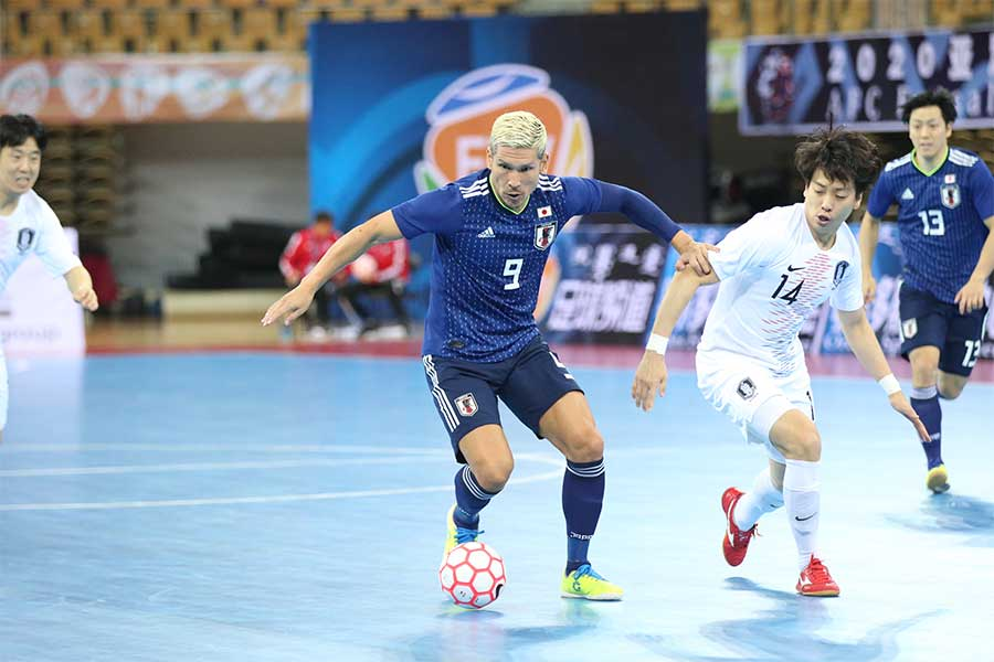 フットサル日本代表FP森岡薫【写真:河合拓/Futsal X】