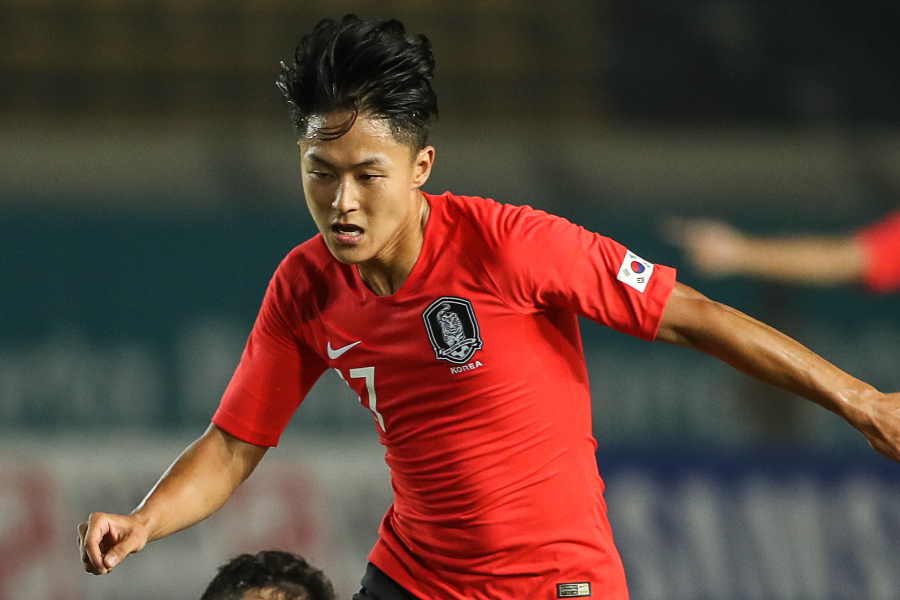 シント=トロイデンの韓国代表FWイ・スンウ【写真:Getty Images】