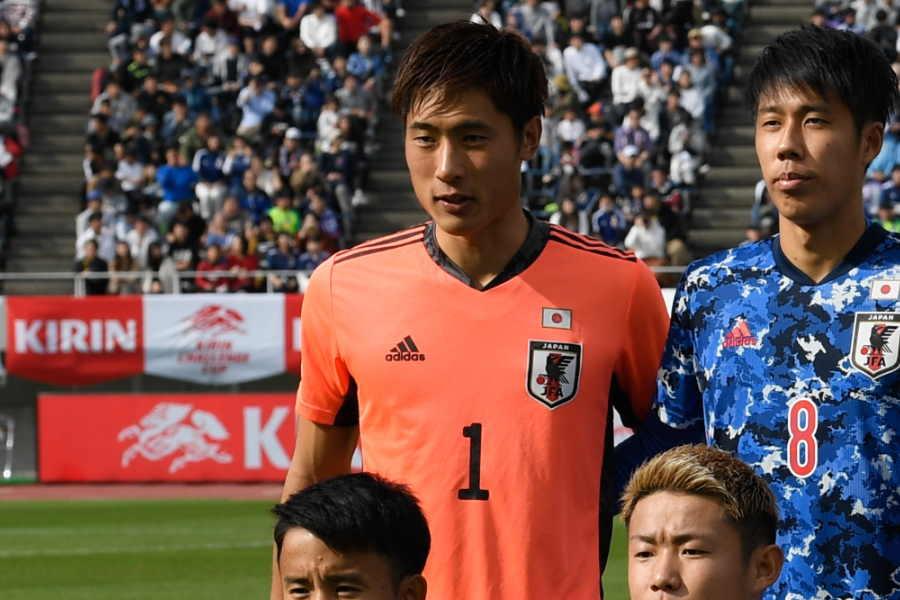 U-23日本代表GK大迫敬介【写真:浦正弘】