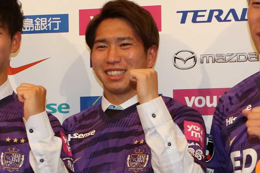 兄も在籍していたサンフレッチェ広島で新シーズンをスタートさせるMF浅野雄也【写真:Football ZONE web】