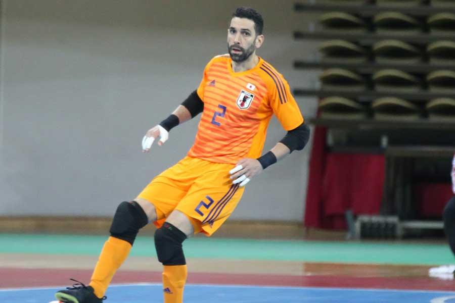 フットサル日本代表GKピレス・イゴール【写真:河合拓/Futsal X】