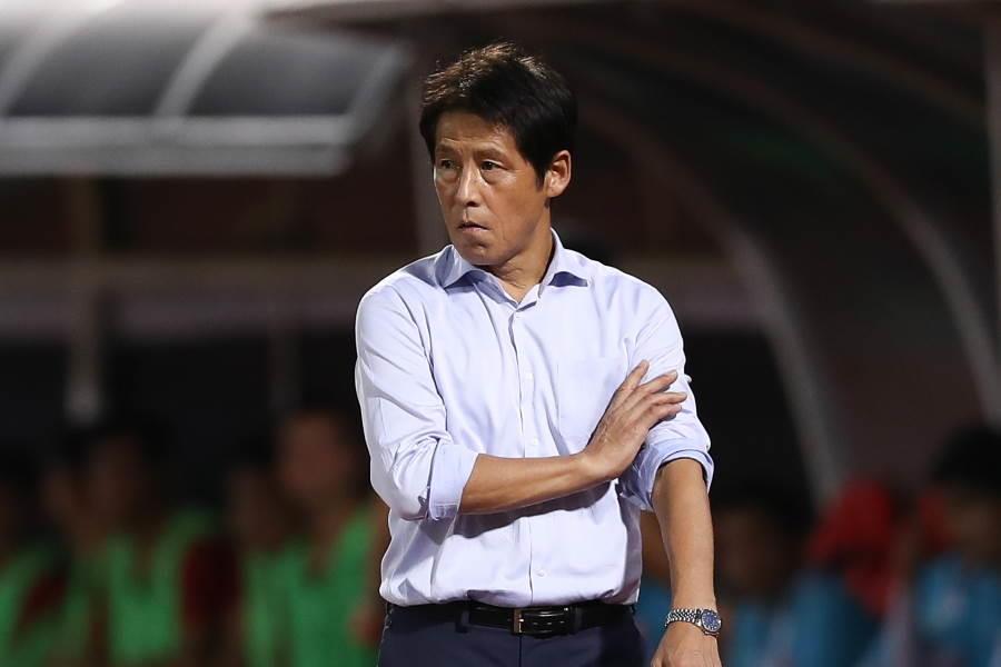 タイ代表を率いる西野朗監督【写真:Getty Images】