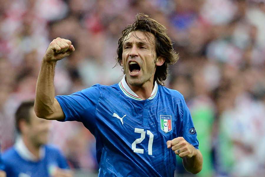 EURO2012のイタリア代表を牽引したアンドレア・ピルロ【写真:Getty Images】