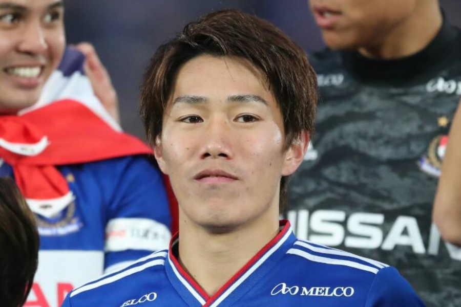 横浜F・マリノスのU-23日本代表MF遠藤渓太【写真:高橋学】