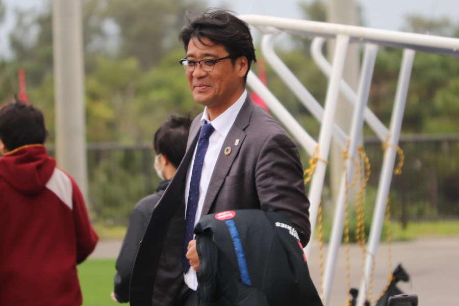 浦和レッズの土田尚史スポーツ・ダイレクター【写真: 轡田哲朗】