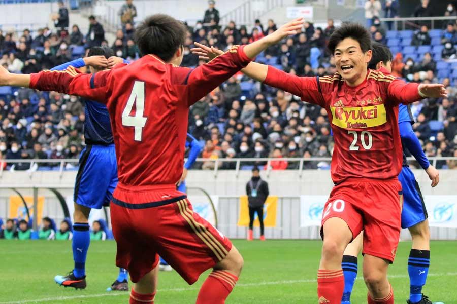 流経柏が5-0快勝で2年連続の決勝進出【写真:Noriko NAGANO】