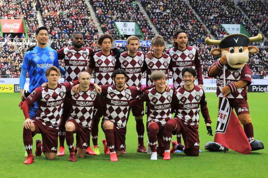 初戦は横浜FCと引き分けた神戸【写真:Noriko NAGANO】