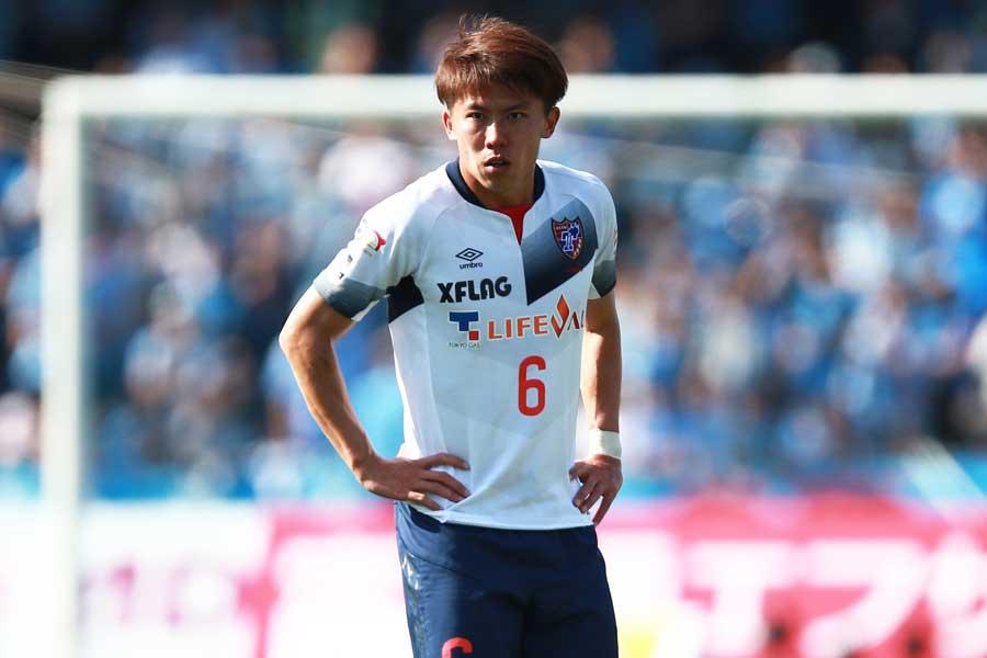 FC東京のDF太田宏介【写真:荒川祐史】