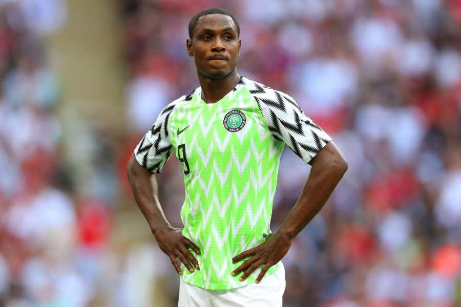 ナイジェリア代表FWオディオン・イガロ【写真:Getty Images】