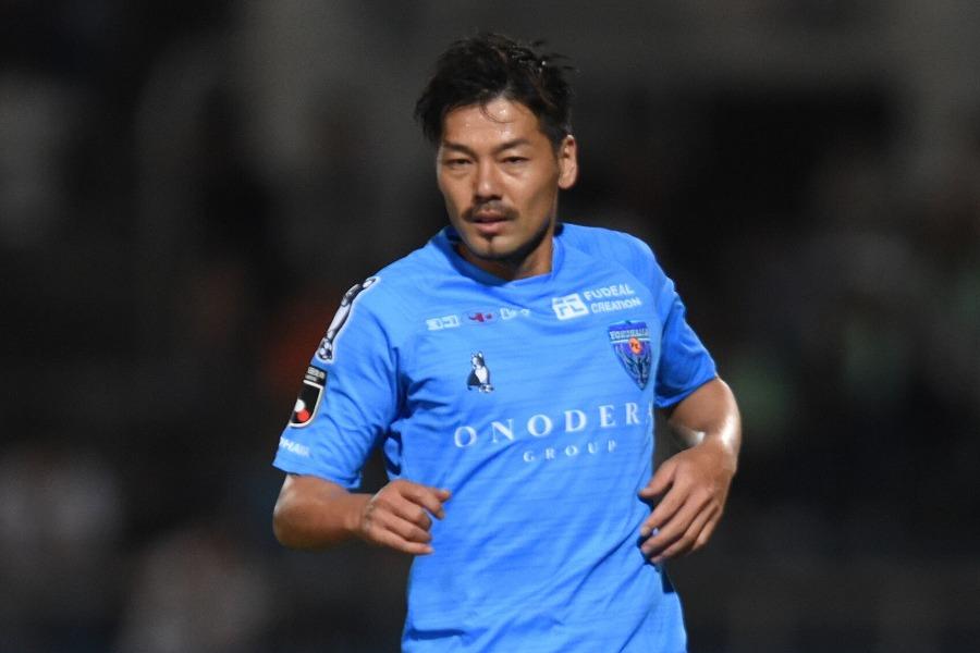初練習試合で好プレーを見せた横浜FCのMF松井【写真:Getty Images】