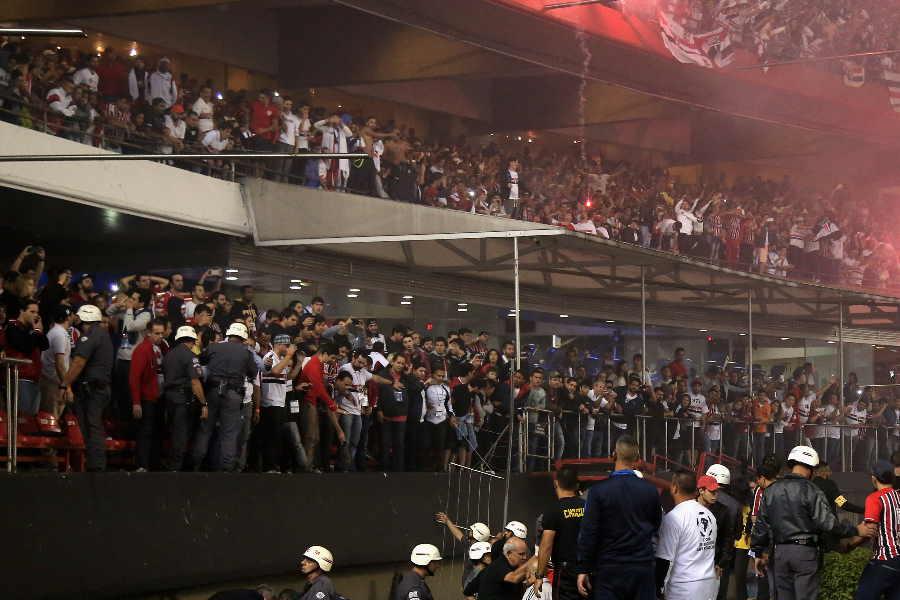 コパ・リベルタドーレスでファンが暴徒化(写真はイメージ)【写真:Getty Images】