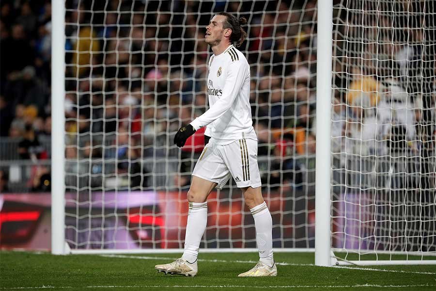 レアル・マドリードFWギャレス・ベイルがまたも試合終了前に帰宅か【写真:Getty Images】