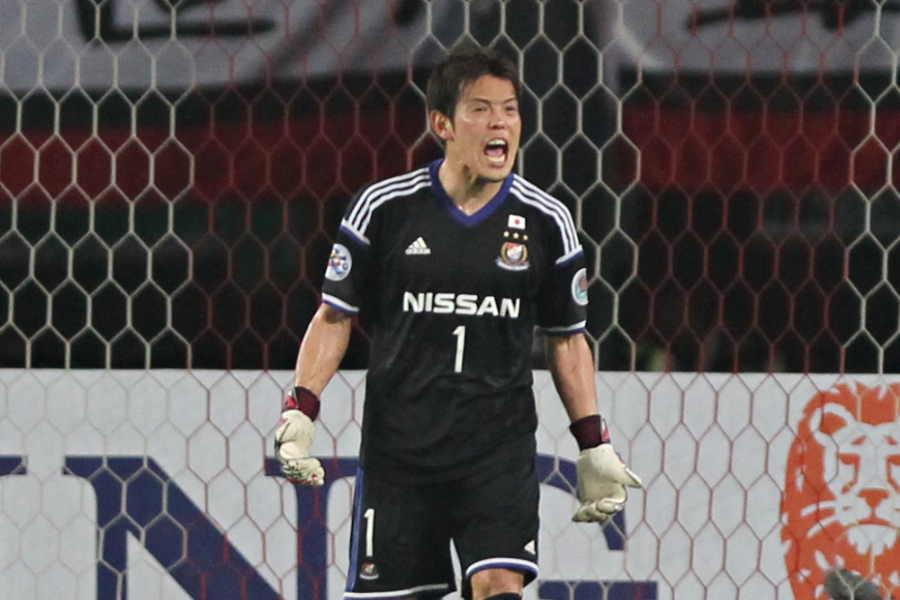 現役引退を発表したGK榎本哲也(写真は横浜FM在籍時のもの)【写真:Getty Images】