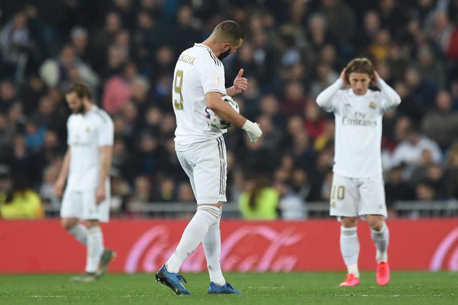 スペイン国王杯準々決勝でレアル・マドリードはレアル・ソシエダに3-4で敗れた【写真:Getty Images】