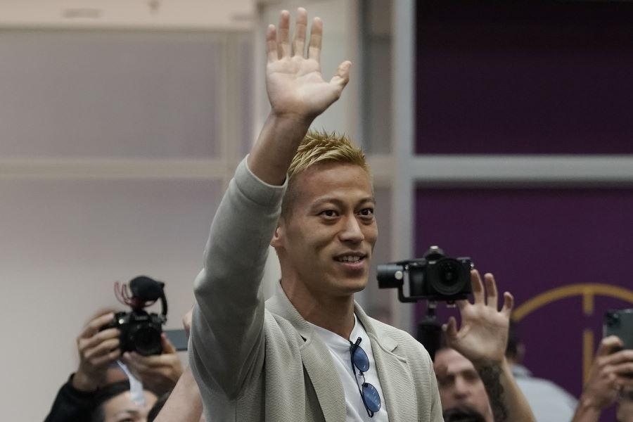 ボタフォゴに移籍した日本代表MF本田圭佑【写真:AP】