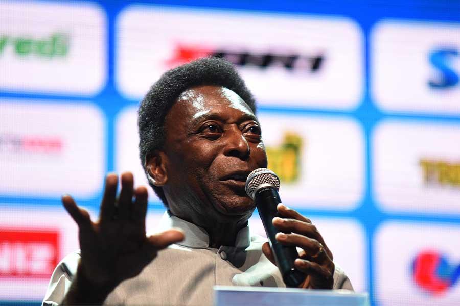サッカー界のレジェンドである元ブラジル代表ペレ氏【写真:Getty Images】