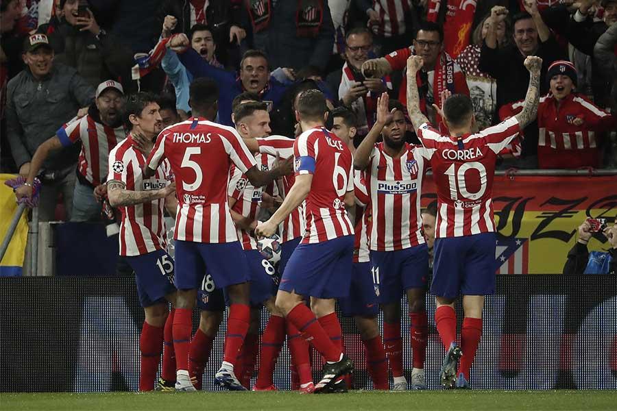 アトレティコ・マドリードがリバプールに1-0で勝利【写真:Getty Images】