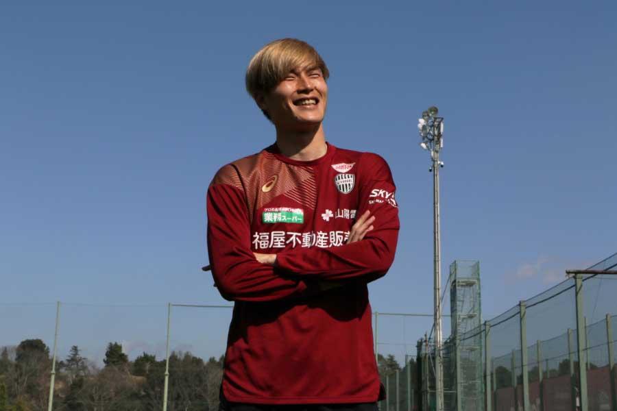 ヴィッセル神戸でプレーする日本代表FW古橋亨梧【写真:Football ZONE web】