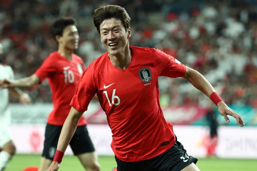 韓国代表FWファン・ウィジョ【写真:Getty Images】