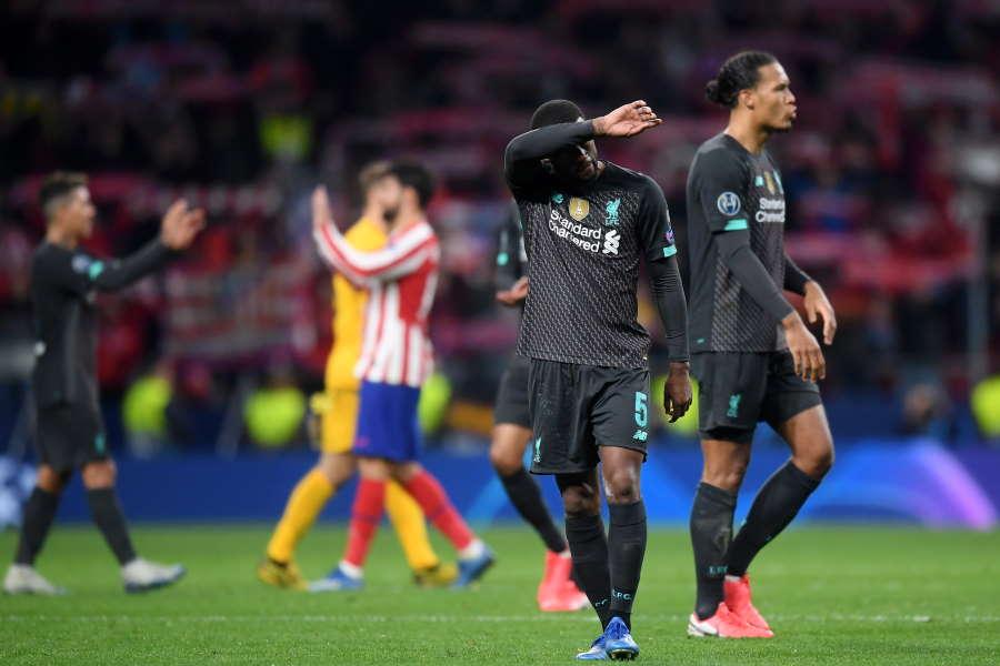 昨季王者のリバプールも第1戦はアトレティコに敗れている【写真:Getty Images】