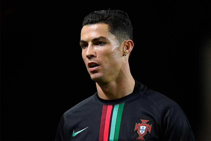 ユベントスに所属するポルトガル代表クリスティアーノ・ロナウドをチョコで再現?【写真:Getty Images】