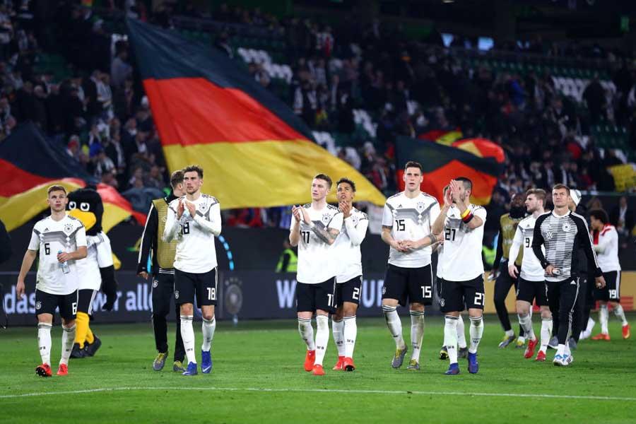 2019年初陣はドロースタートとなったドイツ代表【写真:Getty Images】