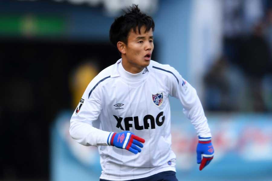 FC東京ではリーグ戦全試合に出場しており、不可欠な存在になっている久保建英【写真:Getty Images】