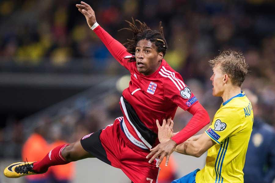 今季ジュビロ磐田に加入したルクセンブルク代表FWロドリゲス【写真:Getty Images】