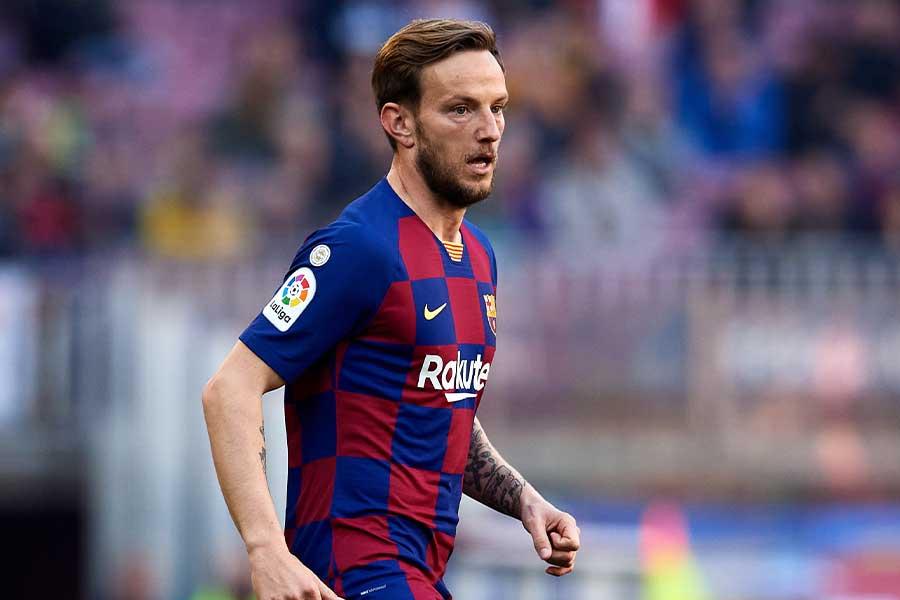 多くのクラブがバルセロナMFラキティッチの獲得を望んでいる【写真:Getty Images】