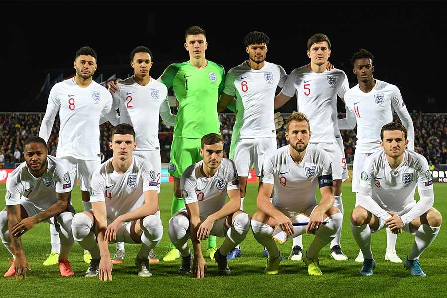 EURO2020に臨むイングランド代表のユニフォームデザインが流出?【写真:Getty Images】