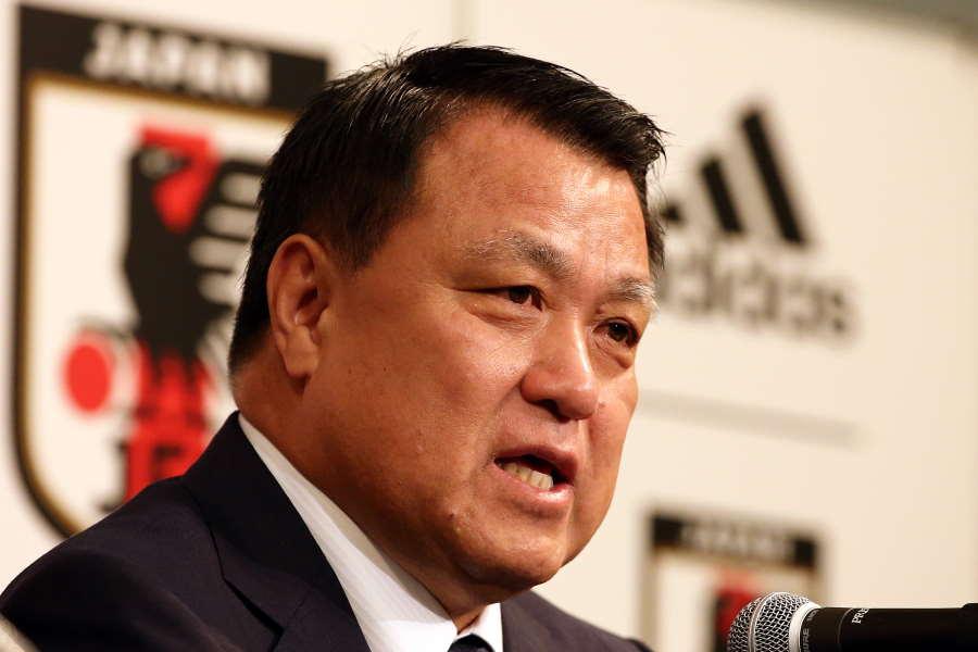JFA、田嶋会長の新型コロナウイルス陽性診断を発表【写真:Getty Images】