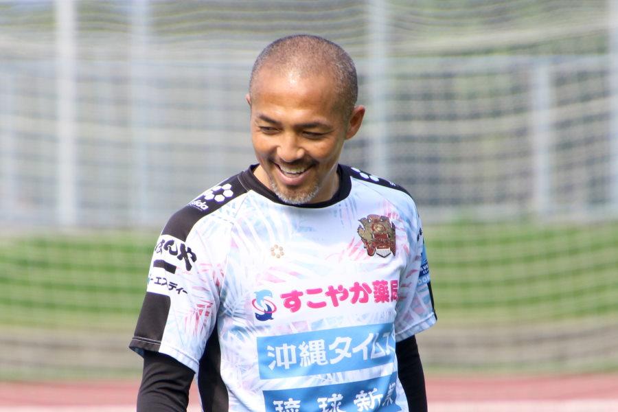 FC琉球の元日本代表MF小野伸二【©FC RYUKYU】