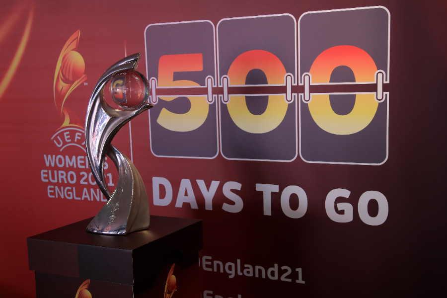 来年開催予定の女子EUROは1年の延期が決定的に【写真:Getty Images】