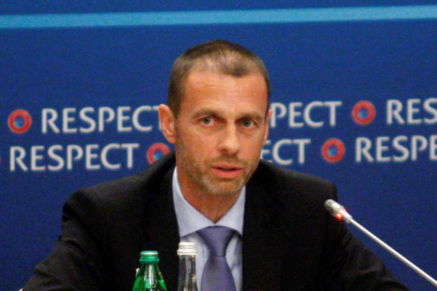 UEFAのアレクサンダー・チェフェリン会長【写真:Getty Images】
