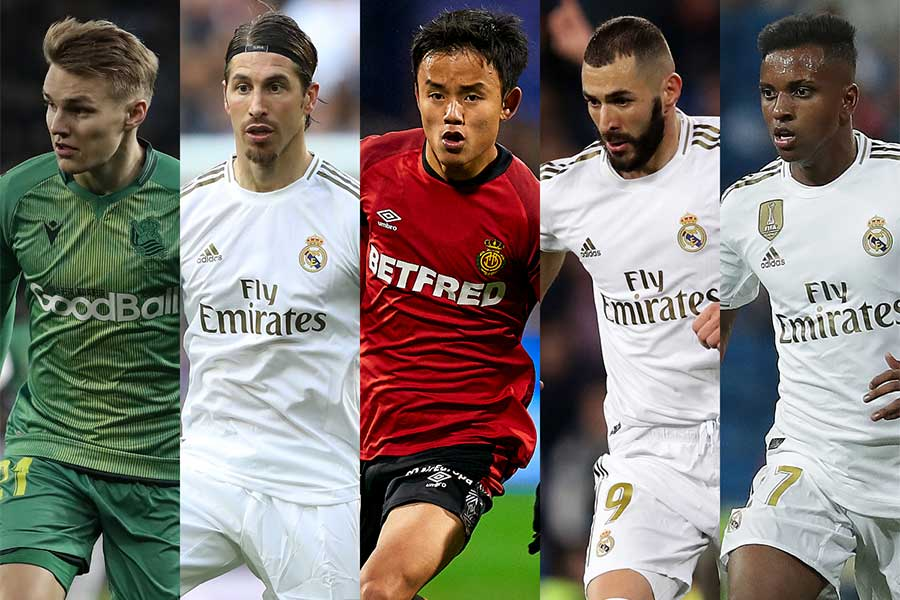レアル・マドリードの来季布陣に選ばれた選手たちとは…【写真:Getty Images】