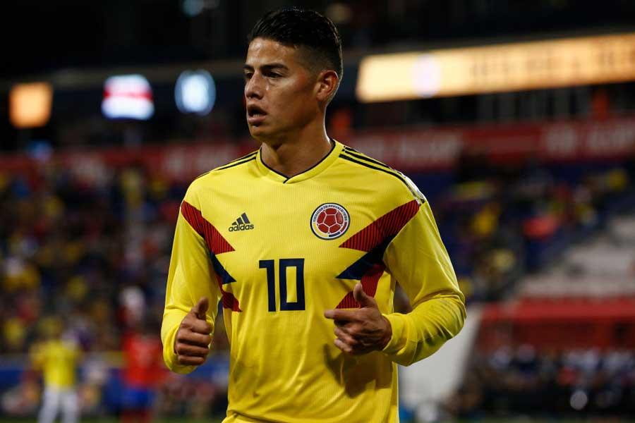 コロンビア代表MFハメス・ロドリゲス【写真:Getty Images】