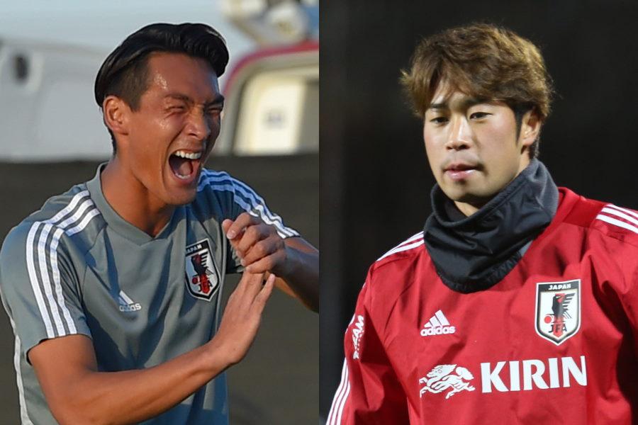 日本代表DF槙野智章(左)がDF三浦弦太の動画を公開【写真:Getty Images】